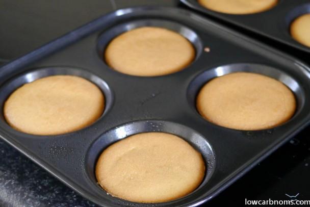 low carb almond buns - suitable for keto, paleo, atkins diet