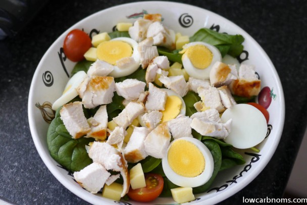 No carb salad recipes