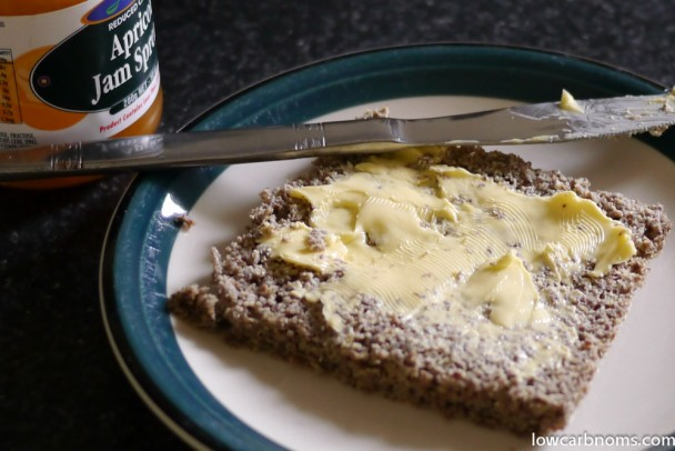 flax bread - suitable for keto, paleo, atkins diet