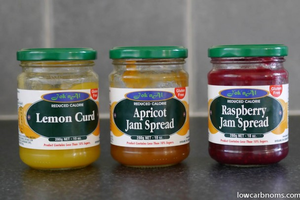 low carb low carb jams - suitable for keto, paleo, atkins diet