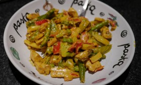 stir-fry chicken curry (2)