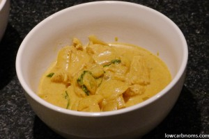 Thai Chicken Red Curry