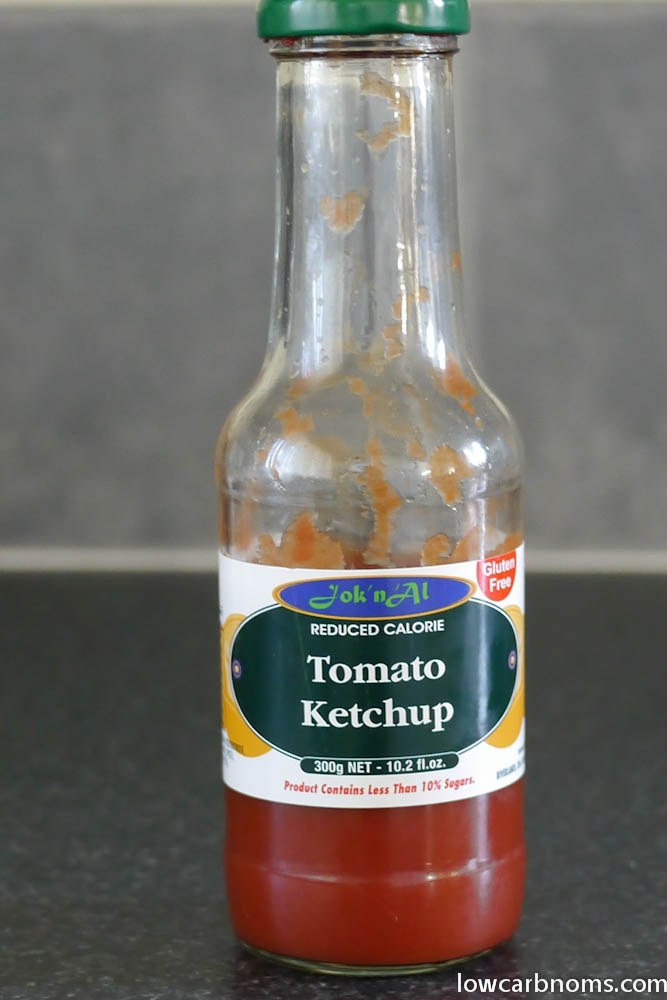low carb tomato ketchup - suitable for keto, paleo, atkins diet